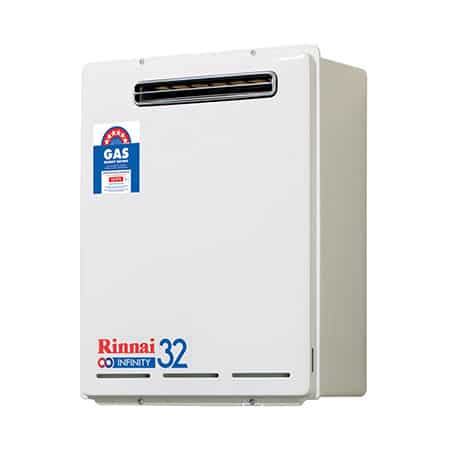 Rinnai LPG Continuous Flow Hot Water System INF32EL60-angle-photo